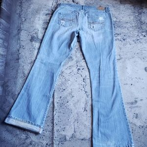 Abercrombie & Fitch Jeans - Abercrombie & Fitch. Destroyed Madison Flare Jean